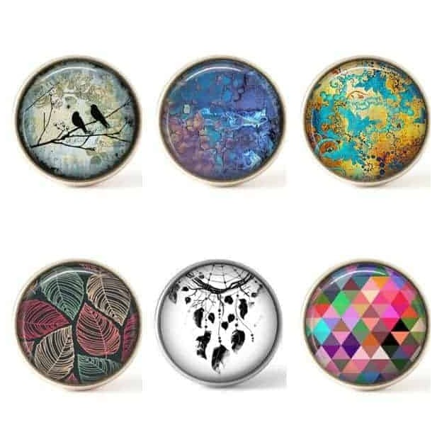Set of 6 buttons - Most popular part 1