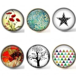 Set of 6 buttons - Most popular part 2