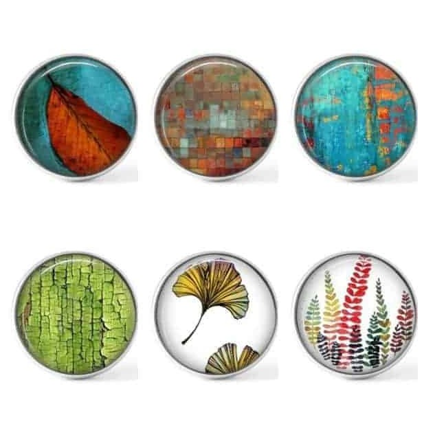 Set of 6 buttons - new collection 2020