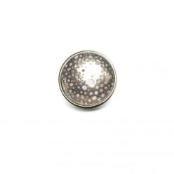 Bouton / cabochon pour bijoux personnalisables points argent