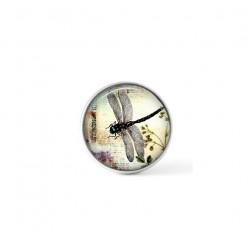 Cabochon / bouton pour bijoux interchangeables - thème Libellule