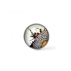 Cabochon / bouton pour bijoux interchangeables - thème tournesol