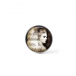 Cabochon / bouton pour bijoux interchangeables - thème du portrait vintage