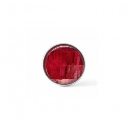 Clip-on snap button for  interchangeable jewelry : Red strings theme