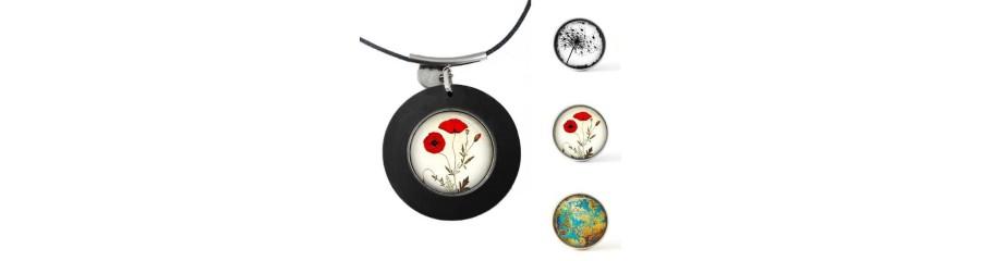 Bijoux personnalisables- bijoux cabochons - bijoux chunk - bijoux créateur
